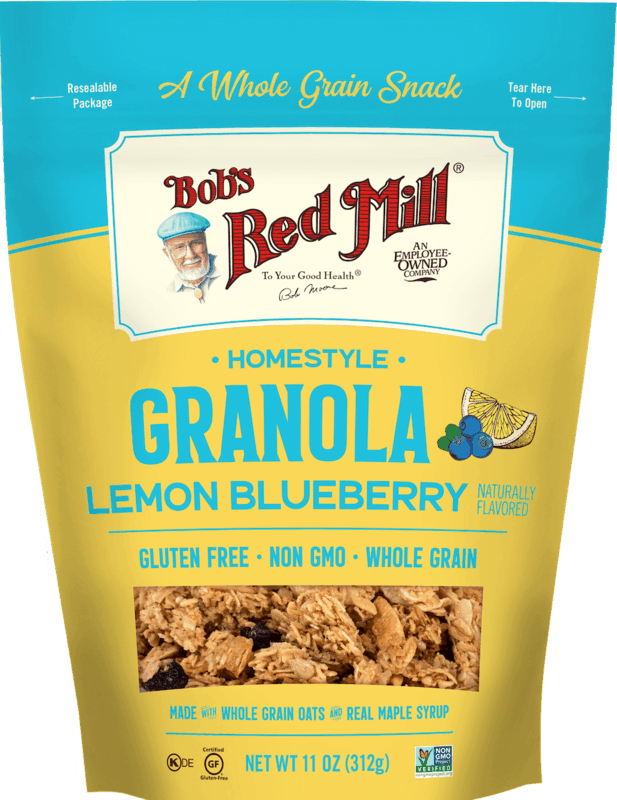 $1.50 for Bob's Red Mill Granolas (expiring on Wednesday, 09/30/2020). Offer available at multiple stores.