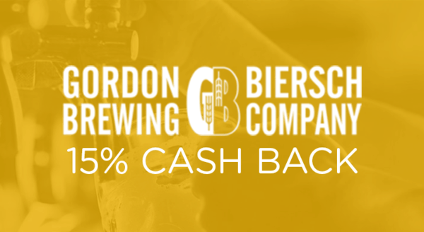 $0.00 for Gordon Biersch (expiring on Wednesday, 10/31/2018). Offer available at Gordon Biersch.