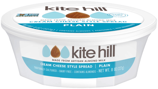 $1.50 for Kite Hill Almond Milk Cream Cheese Style Spread (expiring on Sunday, 06/02/2019). Offer available at multiple stores.