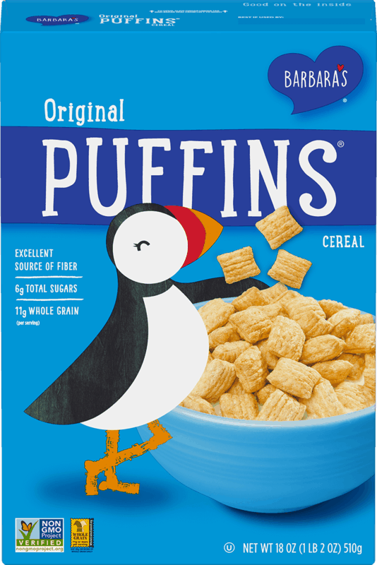 $0.50 for Barbara's Cereal (expiring on Friday, 10/01/2021). Offer available at multiple stores.