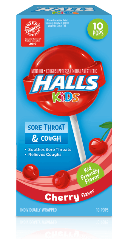 $1.00 for HALLS Kids Pops (expiring on Tuesday, 06/02/2020). Offer available at Walmart.