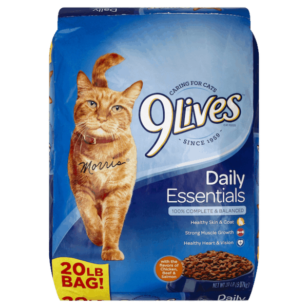 $2.50 for 9Lives® Dry Cat Food (expiring on Tuesday, 03/05/2019). Offer available at Dollar General.