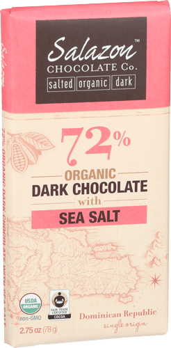 $1.00 for Salazon Chocolate (expiring on Wednesday, 01/10/2018). Offer available at multiple stores.