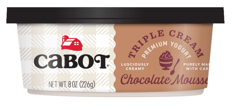 $0.50 for Cabot Triple Cream Yogurt (expiring on Monday, 10/04/2021). Offer available at Walmart, Walmart Pickup & Delivery.