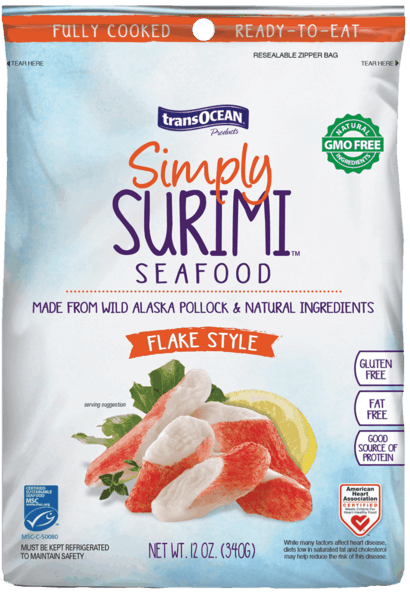 $1.00 for Trans-Ocean® Simply Surimi™ (expiring on Thursday, 08/02/2018). Offer available at multiple stores.