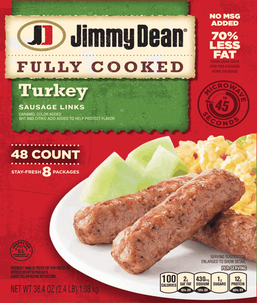 $2.00 for Jimmy Dean® Fully Cooked Turkey Sausage Links (expiring on Wednesday, 10/18/2017). Offer available at Sam's Club.