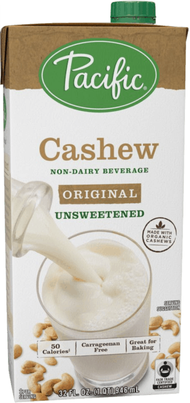 $1.00 for Pacific Foods™ Cashew Plant-Based Beverage (expiring on Tuesday, 02/11/2020). Offer available at multiple stores.