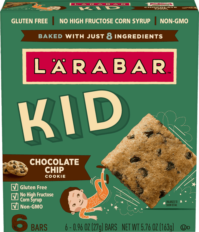 $1.00 for LÄRABAR® KID (expiring on Wednesday, 10/02/2019). Offer available at Walmart.