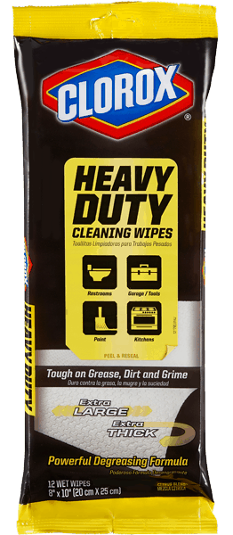 $1.00 for Clorox® Heavy Duty Cleaning Wipes (expiring on Sunday, 04/02/2017). Offer available at Walmart.