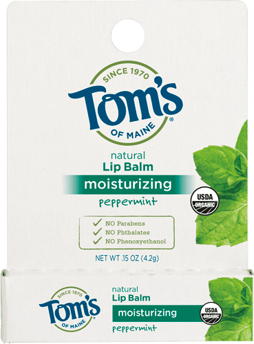 $1.00 for Tom's of Maine® Moisturizing Lip Balm (expiring on Thursday, 03/01/2018). Offer available at Walmart.