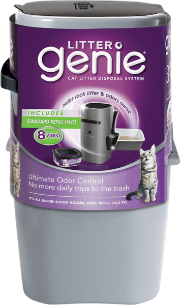 $3.00 for Litter Genie® Cat Litter Disposal System (expiring on Wednesday, 01/02/2019). Offer available at Walmart.