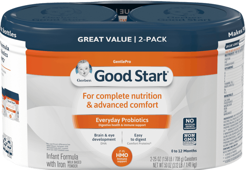 $10.00 for Gerber® Good Start® Gentle HMO Infant Formula (expiring on Sunday, 12/01/2019). Offer available at Sam's Club.