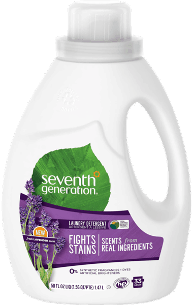 $1.00 for Seventh Generation™ Natural Liquid Laundry Detergent (expiring on Sunday, 10/01/2017). Offer available at multiple stores.