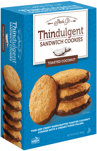 $0.75 for Thindulgent™ Sandwich Cookies Toasted Coconut (expiring on Tuesday, 10/02/2018). Offer available at multiple stores.