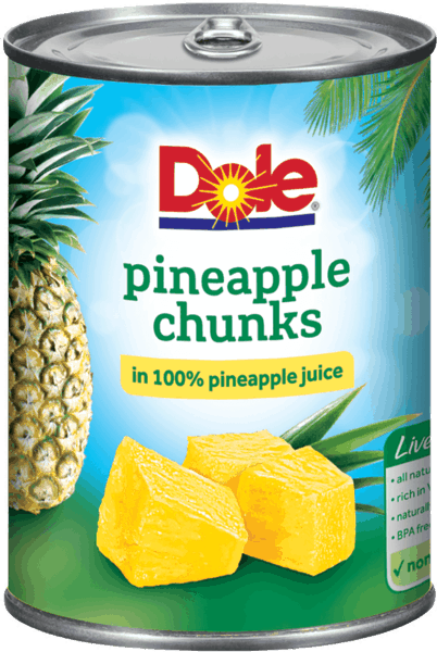 $0.75 for DOLE® Canned Pineapple (expiring on Friday, 03/02/2018). Offer available at Walmart.
