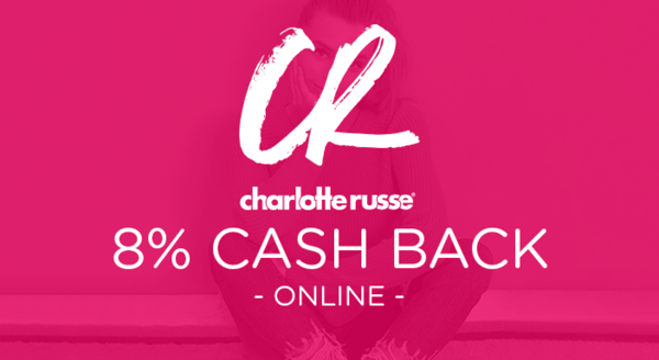 $0.00 for Charlotte Russe (expiring on Wednesday, 08/22/2018). Offer available at CharlotteRusse.com.