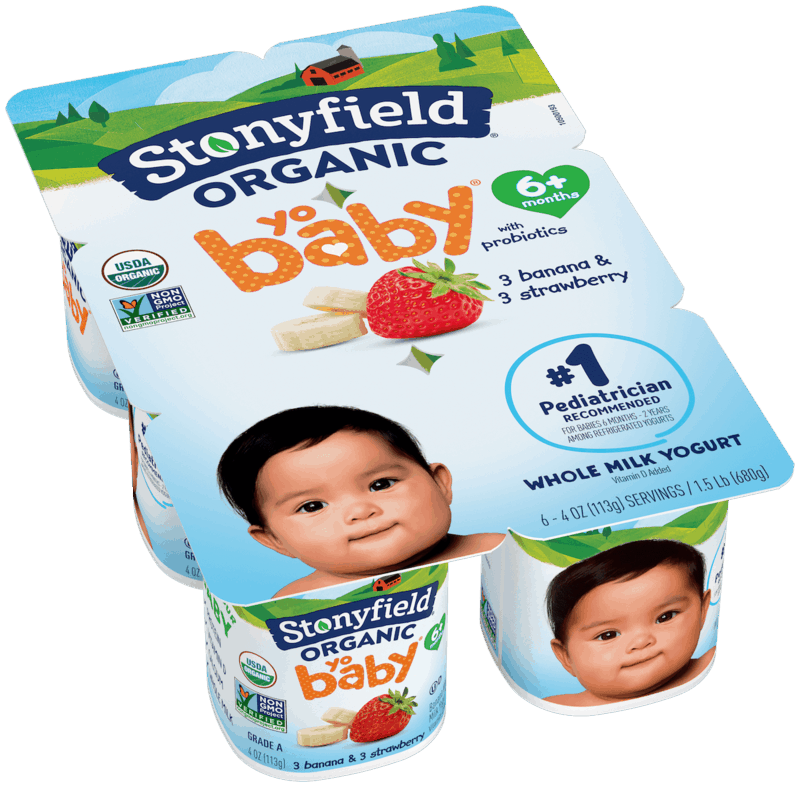 $0.50 for Stonyfield YoBaby Yogurt Multi-Packs. Offer available at multiple stores.