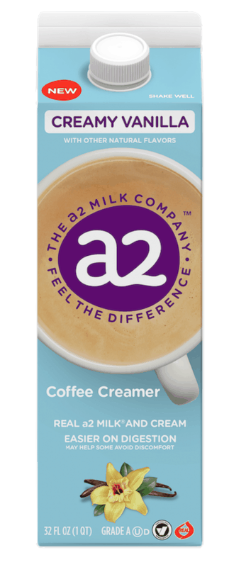 $1.00 for a2 Milk Coffee Creamers (expiring on Tuesday, 06/30/2020). Offer available at multiple stores.