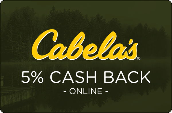 $0.00 for Cabela's (expiring on Monday, 03/04/2019). Offer available at Cabela's.