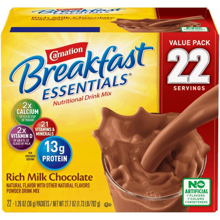 $3.00 for Carnation Breakfast Essentials Nutritional Products Nutritional Drink Mix (expiring on Thursday, 04/29/2021). Offer available at multiple stores.