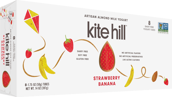 $1.00 for Kite Hill Kids Almond Milk Yogurt Tube (expiring on Sunday, 06/02/2019). Offer available at Target, Whole Foods Market®.