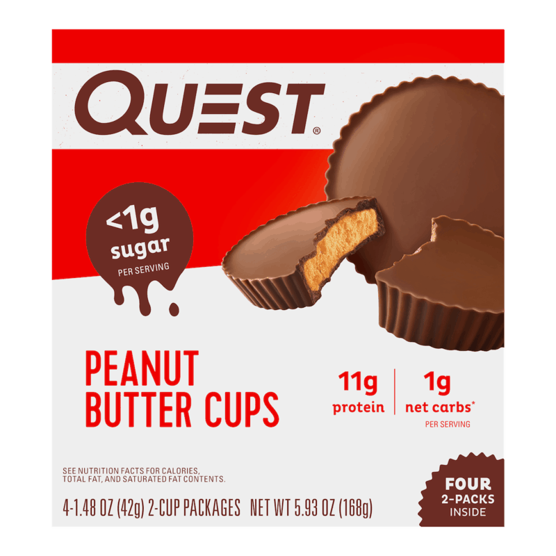 $1.50 for Quest Peanut Butter Cups. Offer available at Target, Target Online.