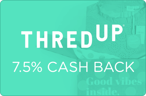 $0.00 for thredUP (expiring on Wednesday, 04/03/2019). Offer available at thredUP.