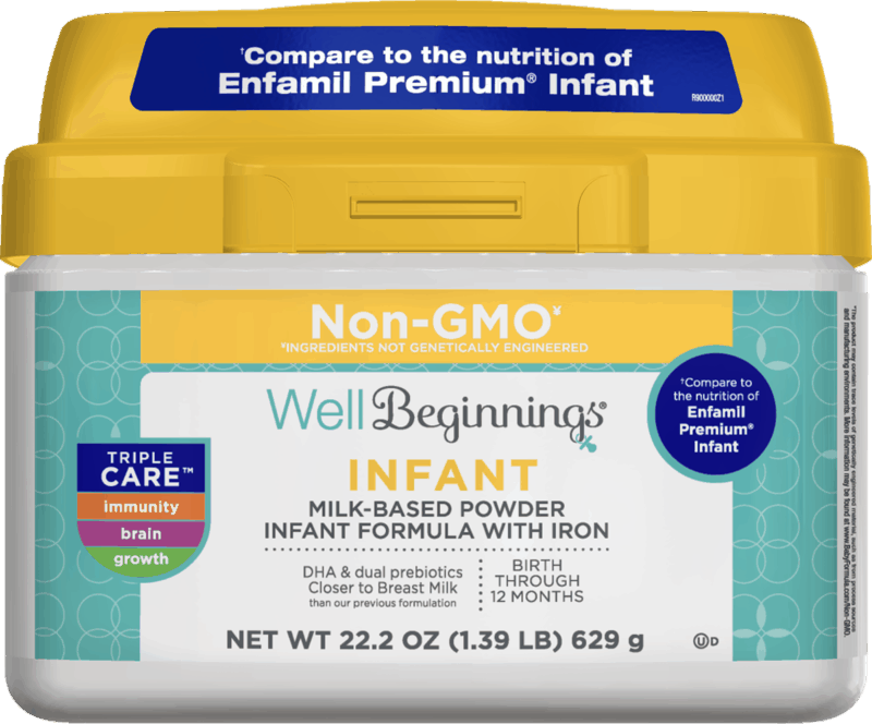 $4.00 for Well Beginnings Infant Formula. Offer available at Walgreens.