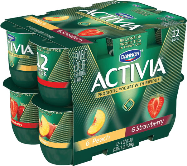 $1.00 for Activia® Probiotic Yogurt (expiring on Monday, 04/02/2018). Offer available at Walmart.