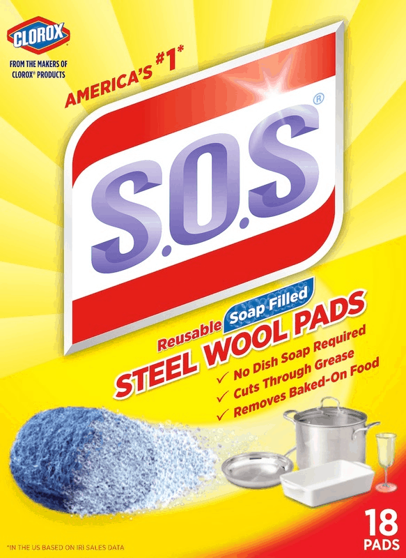 $1.00 for S.O.S® Soap Filled Steel Wool Pads (expiring on Sunday, 01/05/2020). Offer available at Walmart.