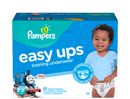 $3.00 for Pampers® Easy Ups (expiring on Tuesday, 05/30/2017). Offer available at multiple stores.