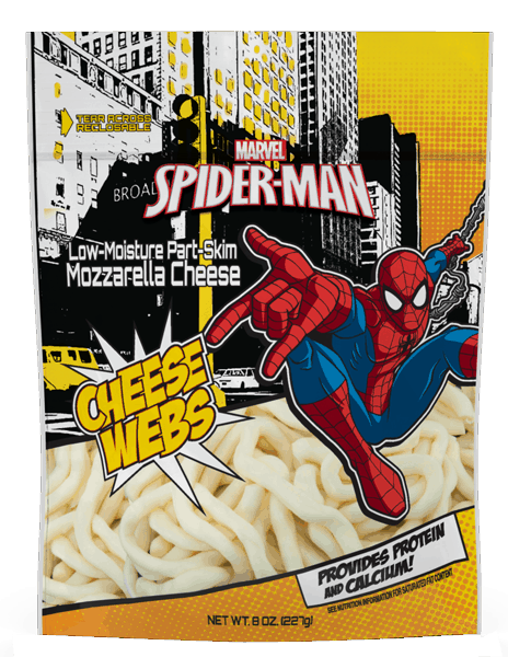 $0.75 for Marvel Spider-Man Cheese Webs (expiring on Sunday, 12/31/2017). Offer available at Walmart.