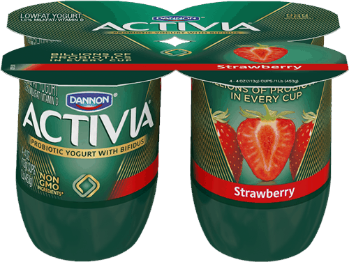 $0.50 for Activia® Probiotic Yogurt (expiring on Wednesday, 05/03/2017). Offer available at Walmart.