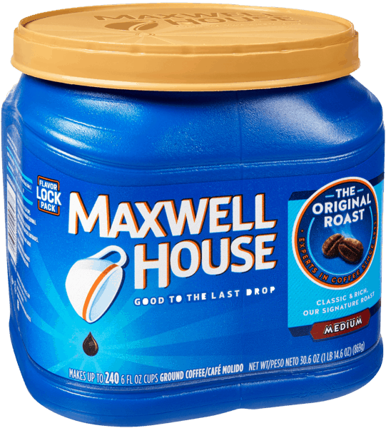 $0.50 for Maxwell House Coffee (expiring on Sunday, 06/02/2019). Offer available at Walmart.