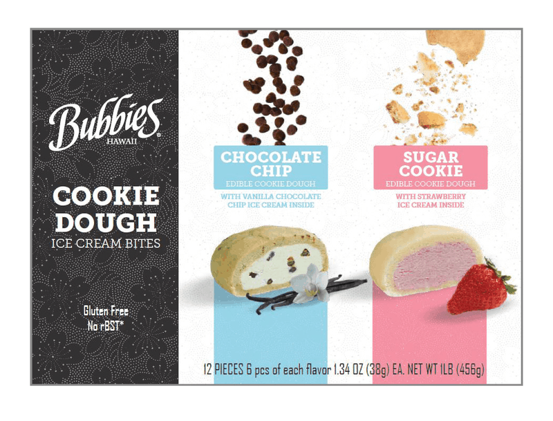 $1.50 for Bubbies Cookie Dough Ice Cream Bites (expiring on Friday, 11/13/2020). Offer available at Sam's Club.