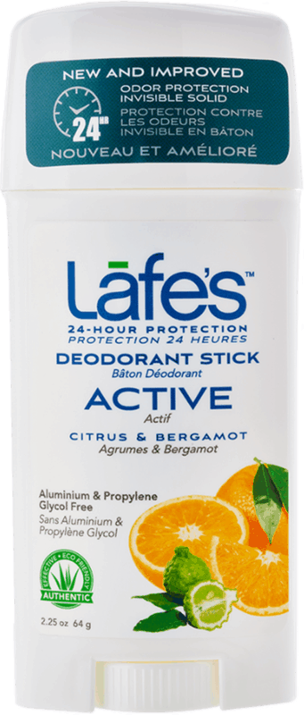 $2.00 for Lafe's Deodorant Stick (expiring on Monday, 05/31/2021). Offer available at Walmart, Walmart Pickup & Delivery.