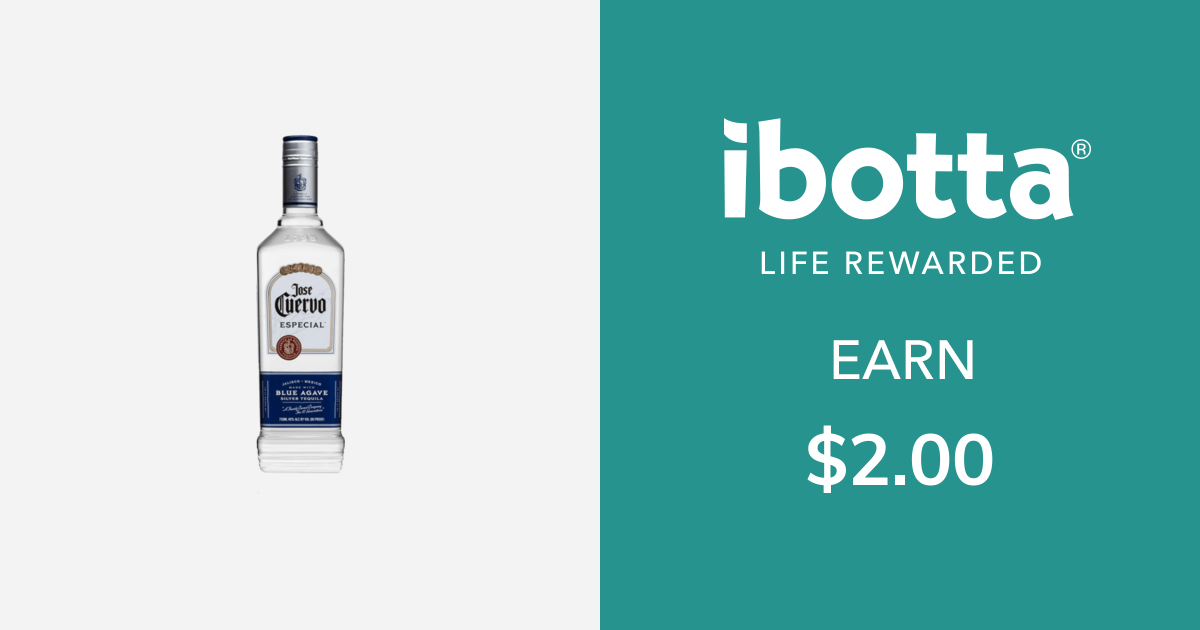 Get $2.00 back on Jose Cuervo Tequila - Especial or Tradicional varieties, 750 ml bottle or larger. Offer includes the following varieties: •Gold •Silver •CingeYou can redeem this offer at any in-store retailer where this product is available.