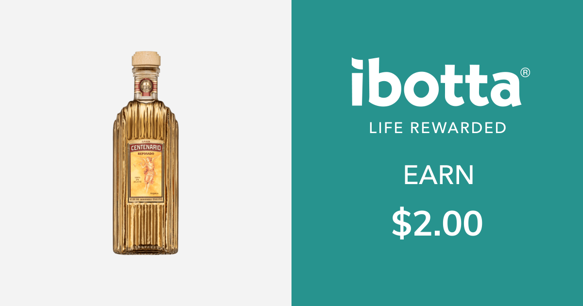Get $2.00 back on Gran Centenario Tequila - any variety, 750 ml only.You can redeem this offer at any in-store/online retailer where this product is available.