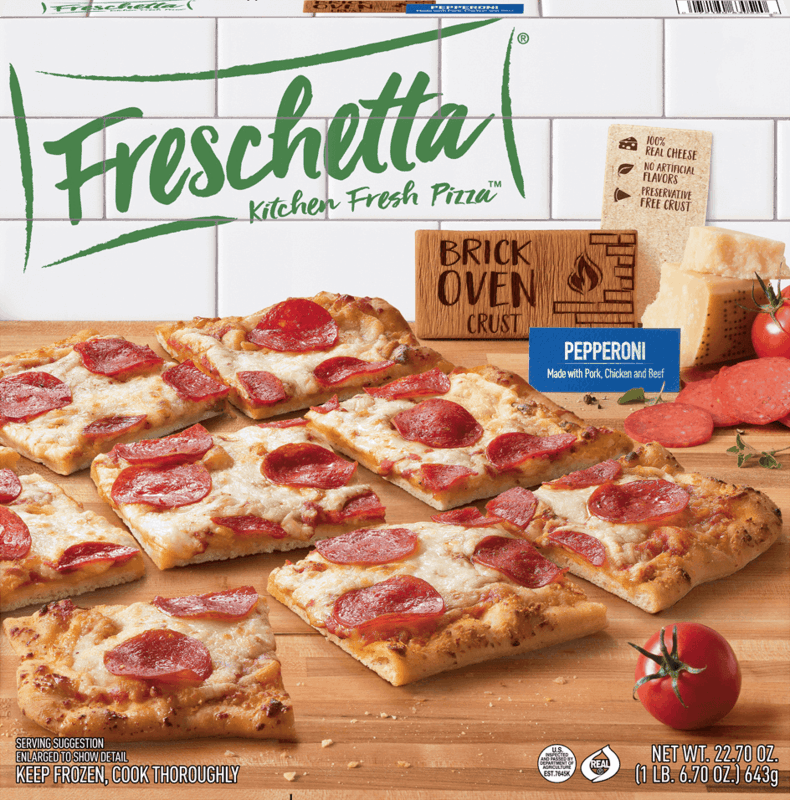 $0.50 for Freschetta® Kitchen Fresh Pizza™ Brick Oven Crust. Offer available at multiple stores.