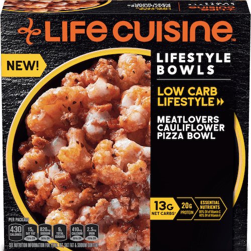 $0.50 for Life Cuisine Bowls. Offer available at multiple stores.