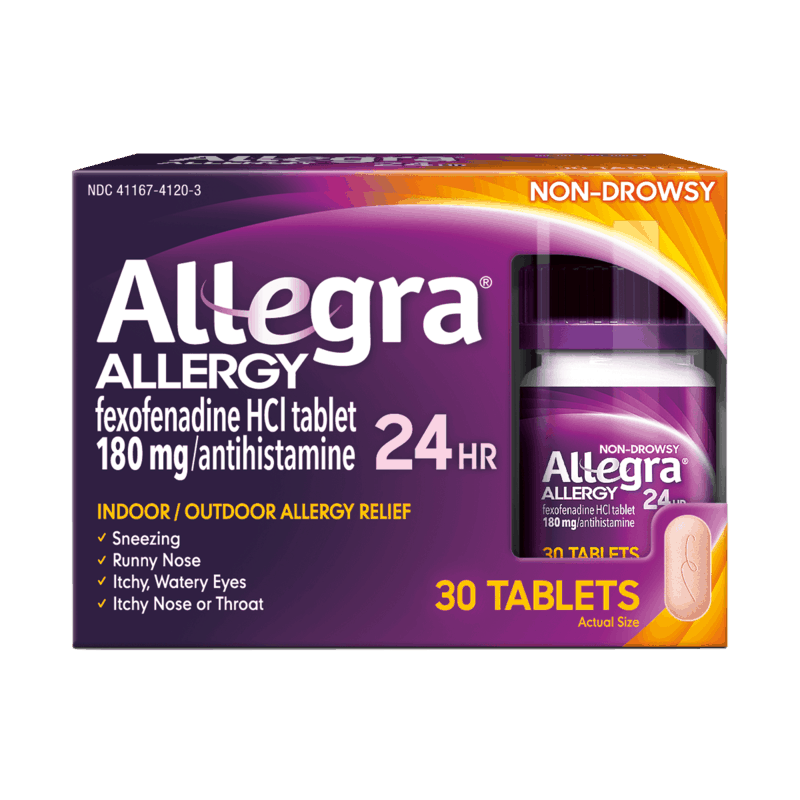 $3.00 for Allegra® Allergy. Offer available at multiple stores.