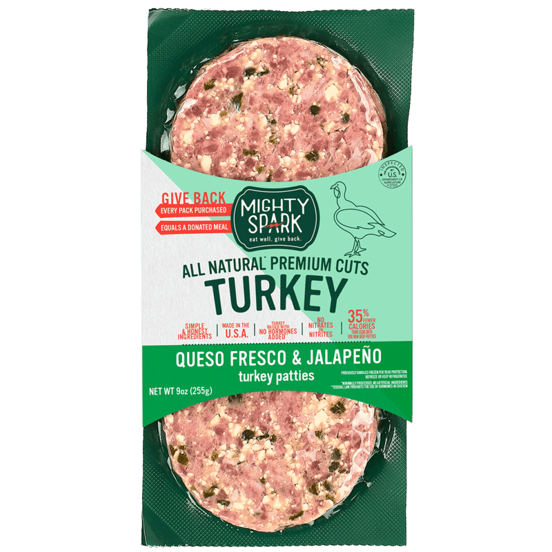 $1.00 for Mighty Spark Turkey Patties (expiring on Tuesday, 05/05/2020). Offer available at Walmart.
