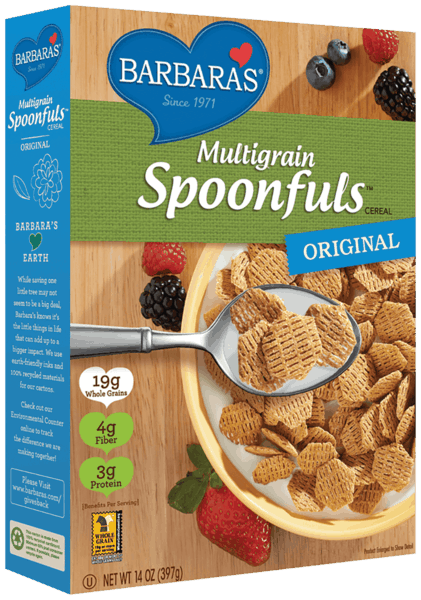 $1.00 for Barbara's® Cereal (expiring on Sunday, 06/02/2019). Offer available at multiple stores.