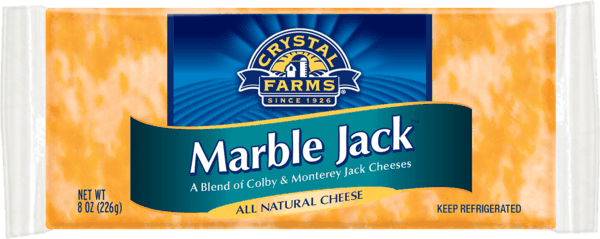 $0.50 for Crystal Farms® Block Cheese (expiring on Sunday, 09/02/2018). Offer available at multiple stores.