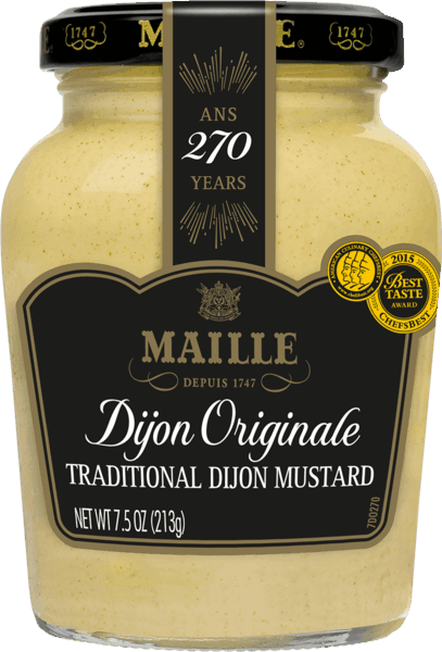 $1.50 for Maille Mustard (expiring on Wednesday, 04/04/2018). Offer available at multiple stores.