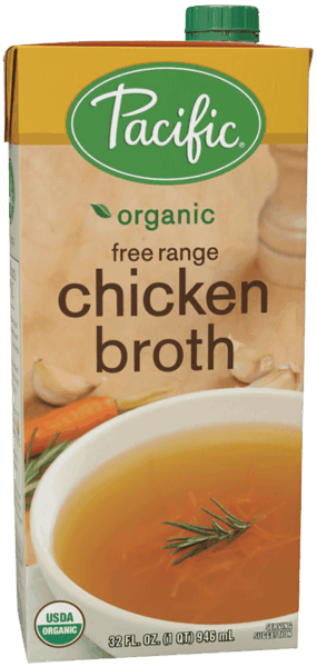 $1.00 for Pacific Foods™ Classic Broth (expiring on Tuesday, 07/31/2018). Offer available at multiple stores.