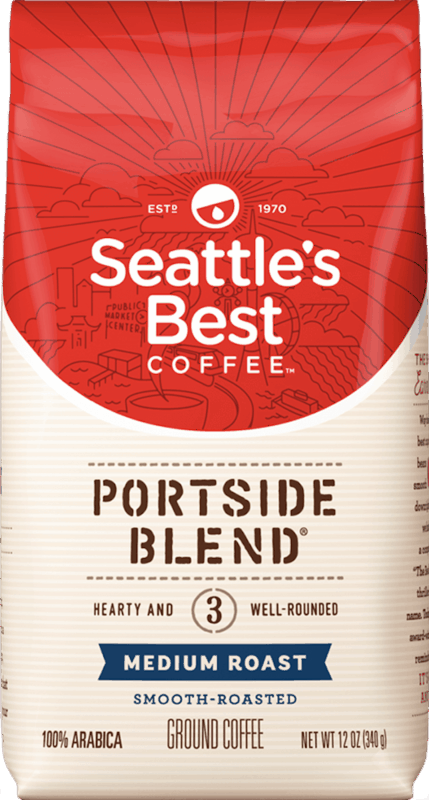 $1.00 for Seattle's Best Coffee™ Ground Coffee. Offer available at multiple stores.