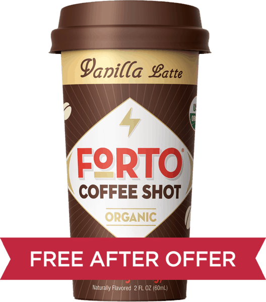$3.00 for Forto® Coffee Shots (expiring on Friday, 11/02/2018). Offer available at Harris Teeter.