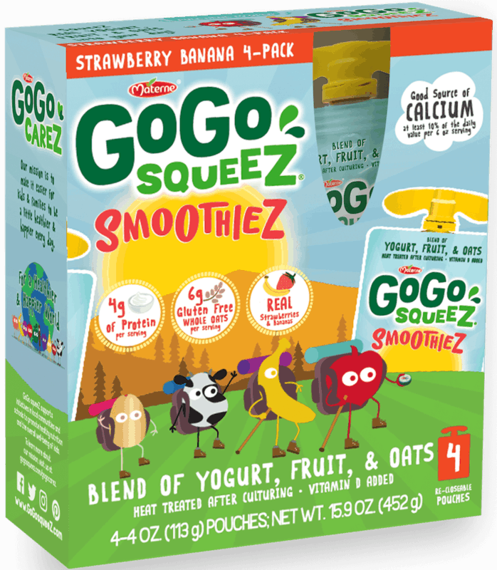 $1.00 for GoGo squeeZ® SmoothieZ (expiring on Saturday, 05/02/2020). Offer available at Target.