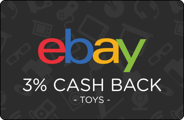 $0.00 for Ebay Toys (expiring on Monday, 10/01/2018). Offer available at eBay.